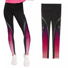 Vs Victorias Secret Pink Black Ombre Mesh Legging Tight Pant Sweat XS