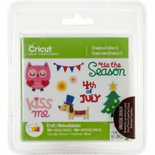 *New* Cricut CREATE A CRITTER 2 Animal Season Cartridge Factory Sealed Free Ship