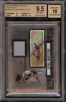 2008 Bowman Sterling Jesus Montero Rookie RC Jersey BGS 9.5 Autograph 10 Auto 11