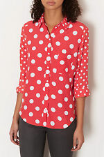 Topshop Collared Blouses for Women