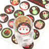 160pcs 10 sheets Christmas Envelope Seal Sticker Gift Label Stickers Decoration
