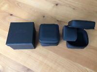 Fortis Reise Uhrenbox Etui schwarz, Neu und Original, schönes Geschenk