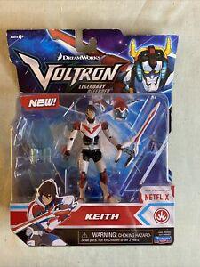 2017 Dreamworks Voltron Legendary Defender Keith Action Figure - New - Netflix