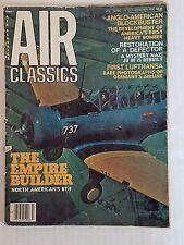 Air Classics Magazine October 1976  / The Empire Builder North American's BT-9