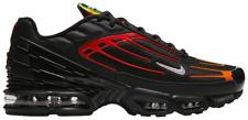 MENS Nike TN Air Max Plus TN 3 Black Orange cv1643-001 SNEAKERS TRAINERS SHOES
