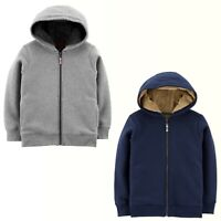 Carters Girls Boys Velboa-Lined Hoodie Warm Outerwear MSRP: $38.00 New