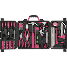NEW 71-Piece Household Tool Kit Accessorie Home Gift for woman Christmas Pink