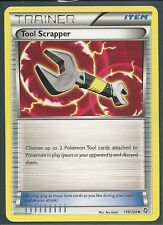4x TOOL SCRAPPER 116/124 - DRAGONS EXALTED Pokemon Card- Uncommon Trainer MINT