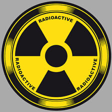3D radioactif metal rip Childrens Wall Stickers Voiture Autocollants Transferts 4 Tailles