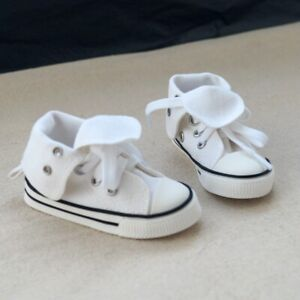 "BJD White Canvas Shoes Sneakers Skull For  male 1/3 24"" BJD doll AOD SD13 DK"