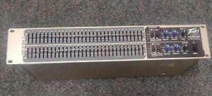 Peavey PV231 EQ Dual 31 band Graphic Equaliser Analogue Hardware (87341)
