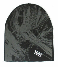 Muse 2nd Law Black Beanie Ski Hat Cap New Official Band Merch OSFA