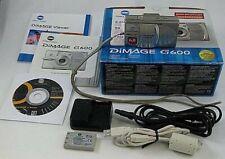 Konica Minolta Dimage G600 6 MP Digital Camera