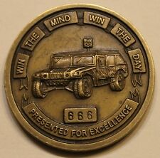 9th Psychological Operations BN Airborne ser#666 Army Challenge Coin