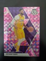 2019-20 Panini Mosaic Pink Camo Prizm #18 Anthony Davis (Lakers) Free Shipping