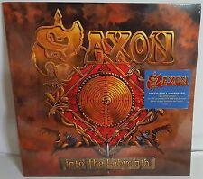 Saxon Into The Labyrinth Neon Orange Vinyl LP Record new
