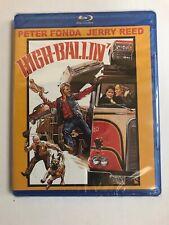HIGH BALLIN'  Blu Ray SEALED Peter Fonda Jerry Reed KINO