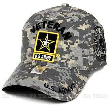 U.S. ARMY hat ARMY VETERAN Military Official Licensed Baseball cap- Digital Camo