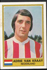 Football Sticker - Panini Euro Football 1976 - No 205 - Adrie Van Kraay
