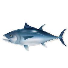 "Tuna Fish Fishing car bumper sticker window decal 7"" x 2"""