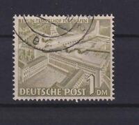 Berlin 17 X Bauten 1 Mark fallendes Wz gestempelt geprüft Schlegel (et127)