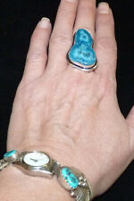 Large Solar Quartz Agate Ring. Size O.