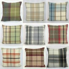 Country Checked Decorative Cushions
