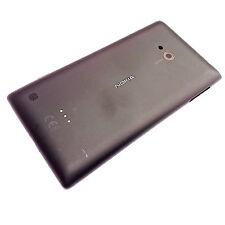 100% Originale Nokia Lumia 720 Posteriore Batteria Coperchio + fotocamera vetro + PULSANTI LATERALI NERO
