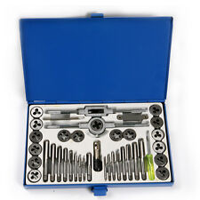 M3-M12 Metric Tap and Die Pitch Tooth Gauge Workshop Garage Tool Combo Set