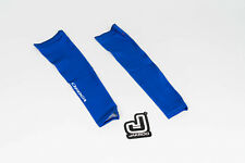 New 2017 Men's Jakroo UHC Pro Cycling Infinity Arm Warmers, Blue, Size Medium