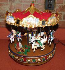 Mr. Christmas 2005 Carousel Horses Holiday Decoration 30 Songs X-mas & Classic