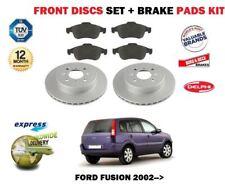 für FORD FUSION alle Modelle 2002- > Bremsscheiben Vorne Satz und Bremsbeläge
