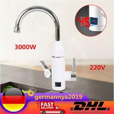 Warmwasser-Armatur eingebauter Durchlauferhitzer elektrisch 3,3kW B-WARE D-87