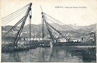 GENOVA – Grue Pei Lavori del Porto – Genoa – Italy – udb (pre 1908)