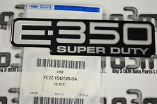 2003-2005 Ford E-350 Super Duty Nameplate Badge Emblem new OEM XC2Z-1542528-DA