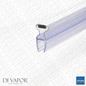Di Vapor (R) Angolato Magnetico Doccia Guarnizione Della Porta 4-6mm/8mm Vetro