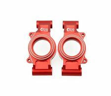GDS Racing Rear Wheel Hub Carriers Red for Traxxas X-MAXX 1/5 RC Truck (2pc)