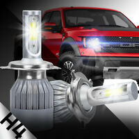 XENTEC LED HID Headlight Conversion kit H4 9003 6000K for 2000-2005 Toyota Echo