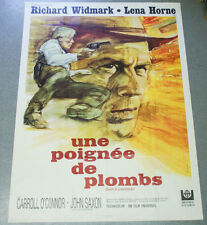 Affiche de cinéma : UNE POIGNEE DE PLOMBS d'Allan SMITHEE
