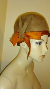"""Vintage Women's Hats by Yolie """"Empress"""" Fur Hats Made In West Germany"""