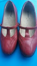 Womens Footsmart leather shoe size 6W