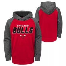 NBA Chicago Bulls Boys Jump Shot Performance Hoodie Size XS 4/5