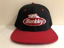 Berkley Fishing Tackle Snapback Hat Cap Fish Fisherman Novelty Adjustable Rod