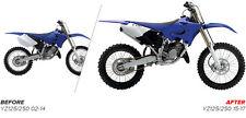Yamaha MX Plastic Restyle Kit YZ 125 / 250 2002 - 2014 OEM Blue Motocross 90716