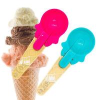 plastic Heavy Duty Ice Cream Scoop Mash Potato Sorbet Spoon UK
