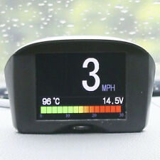 AUTOOL Vehicle Trip Computer Overspeed Alarm Engine Status Monitor OBDII Scanner