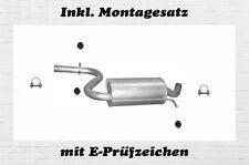 VW Golf V 5 2.0 GTI 147/169KW Mittelschalldämpfer Auspuff Mitteltopf Montagesatz