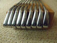 Men right handed regular steel TaylorMade RAC LT iron set 2-P