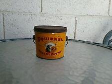 Vintage squirrel peanut butter tin - 1 pound