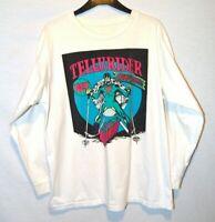 Vintage Colorado Telluride Bluegrass Festival Long Sleeve Ski Graphic T Shirt XL